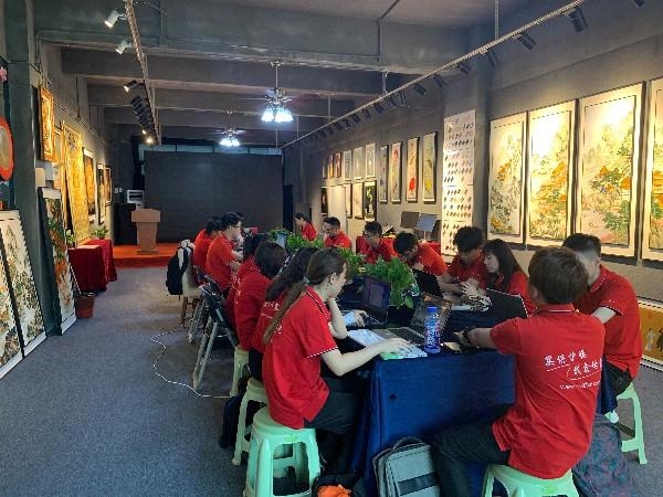 第二次雄狮战队集体办公学习在深圳金强人公司举行