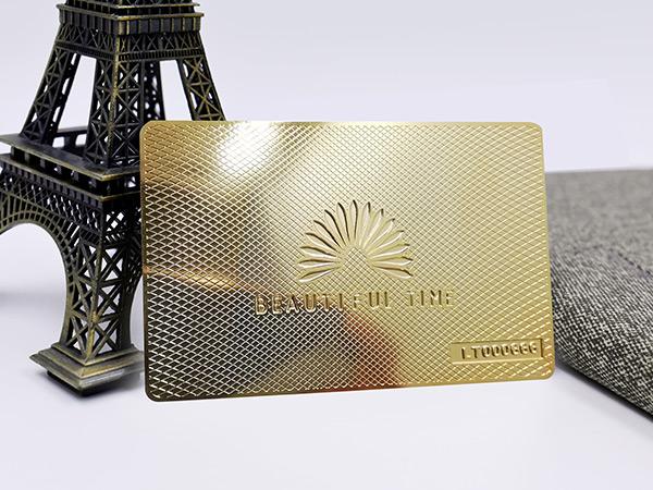 制作金属条码卡的注意事项