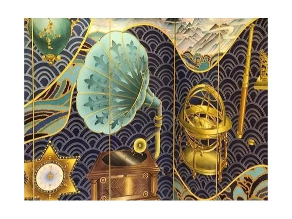 文化艺术史上浓墨重彩的一笔-掐丝珐琅画