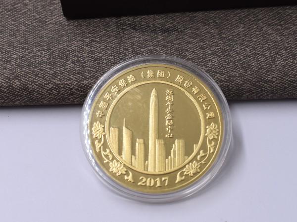 中国平安----徽章定制案例