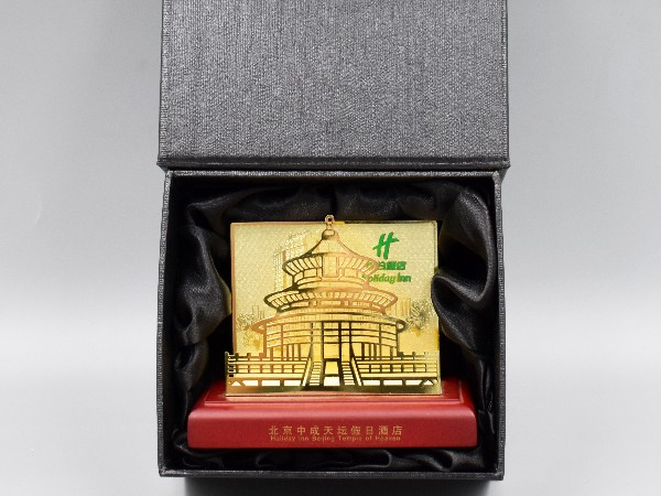 免费设计_定制_酒店金属卡名片架样版