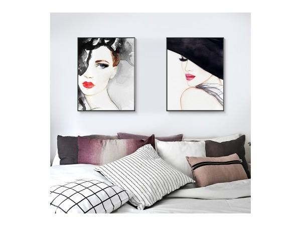 客厅沙发后挂画有哪些讲究