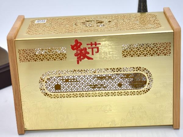 免费设计_定制_办公家居金属镂空纸巾盒样版