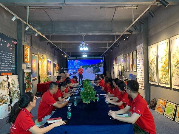 深圳金强人网络营销团队参加牛商汇扒皮大会