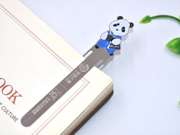 免费设计_定制_清华大学训练营金属书签样版