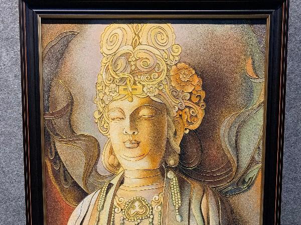 笔墨铺展,掐丝勾勒,点蓝烘,从传统的铜胎景泰蓝釉掐丝珐琅,