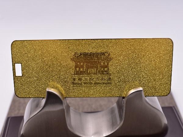 金强人分享----金属标牌加工费用和品牌知名度存在关系吗?