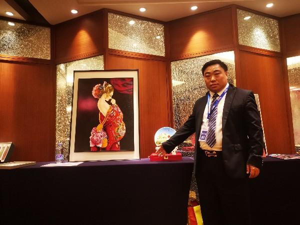 金强人参加央视崛起中国信用中国评选活动